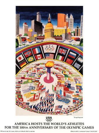 America Hosts World's Athletes Atlanta, c.1996 Olympics