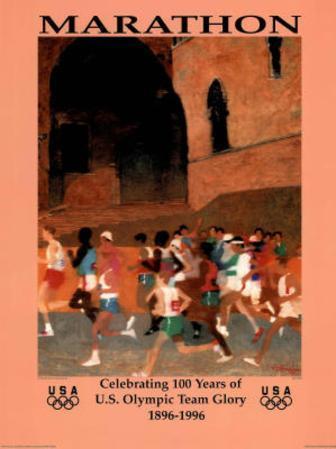 Marathon Celebrating 100 Years U.S. Olympic Team