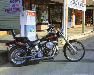 Harley Davidson, c.1992 Softail Custom