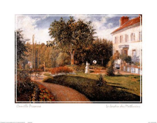 Le jardin des mathurins prints by camille pissarro at - Jardin des crayeres menu ...