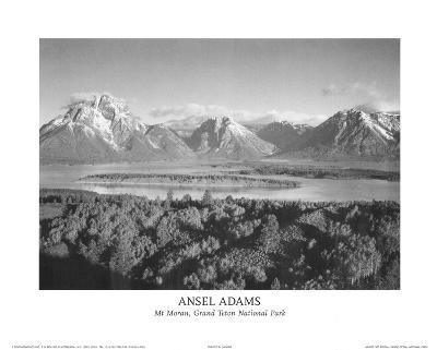 Mt Moran Grand Teton