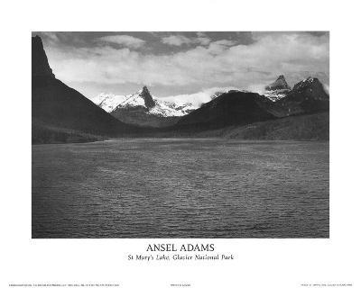 St Mary's Lake Glacier National Park
