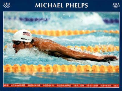 Michael Phelps Swimming World Record Times Olympics