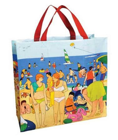 Day at the Shore Shopper Bag