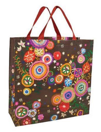Pretty Print Shopper Bag
