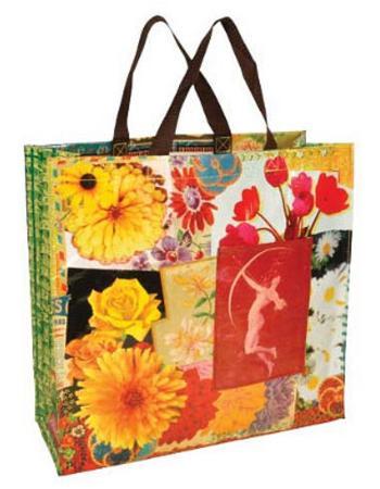 Flower Shopper Bag