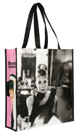 Audrey Hepburn Large Recycled Shopper