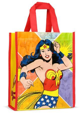 Wonder Woman Small Recycled Shopper