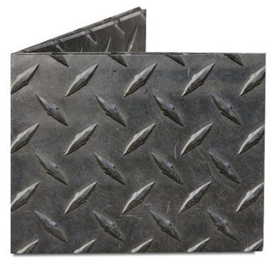 Diamond Plate Tyvek Mighty Wallet
