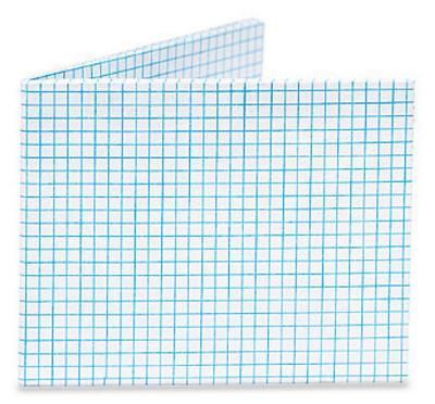 Graph Paper Tyvek Mighty Wallet