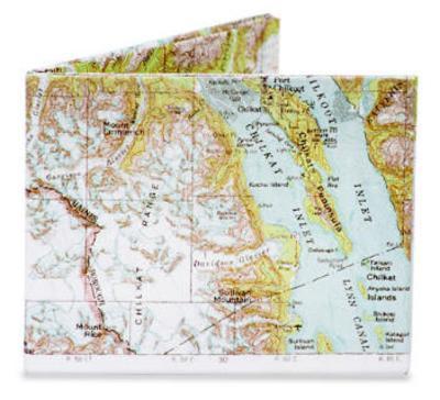 Explorer Map Tyvek Mighty Wallet
