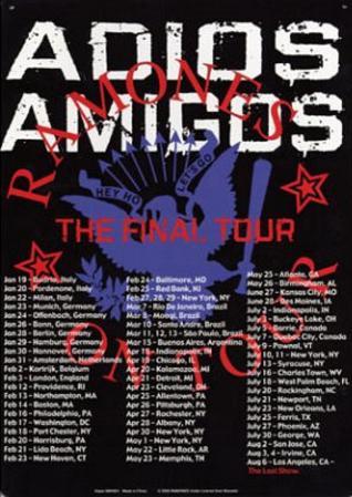 Ramones Adios Amigos The Final Tour