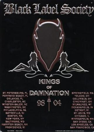 Black Label Society Kings of Damnation