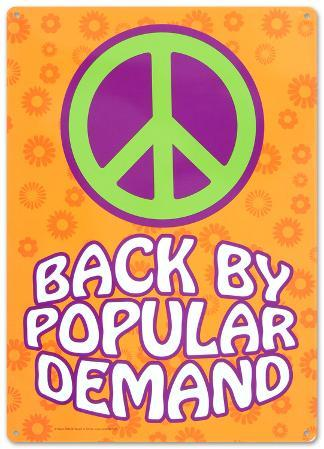 Peace Back By Popular Demand