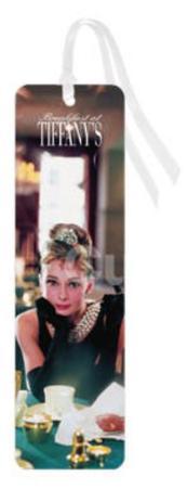 Audrey Hepburn Breakfast At Tiffany's Movie Table Bookmark