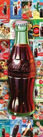 Coca-Cola Bottle Collage 1000-Piece Jigsaw Puzzle