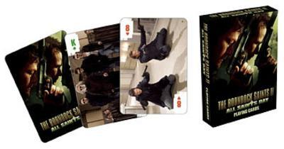 Boondock Saints II: All Saints Day Movie Playing Cards