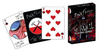 Pink Floyd The Wall Music Playing Cards