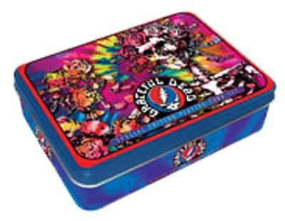 The Grateful Dead Playing Card Tin Set