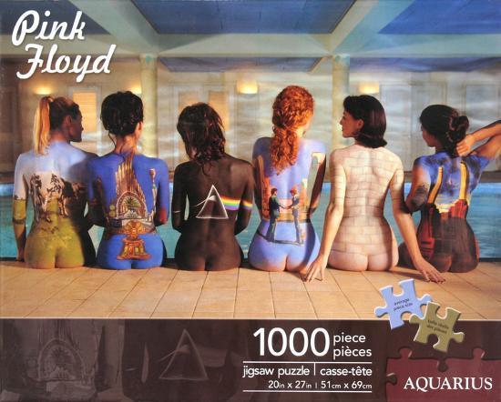 Pink Floyd Back Catalogue 1000 Piece Jigsaw Puzzle
