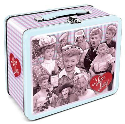 I Love Lucy Retro Vintage Metal Lunch Box