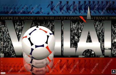 1998 World Cup Soccer France Voila Crowd Scene