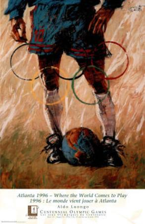 Where the World Comes to Play Atlanta, c.1996 Olympics