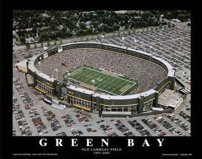 Green Bay Packers Old Lambeau Field, c.1957-2003 Sports