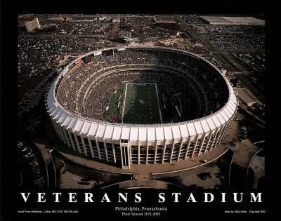 Philadelphia Eagles Veterans Stadium Final Season, c.1971-2003 Sports