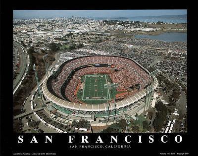 San Francisco 49ers Candlestick Park Sports