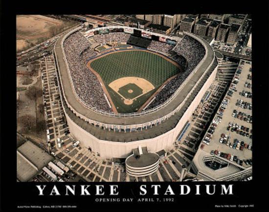 New York Yankees Old Yankee Stadium Opening Day April 7 C