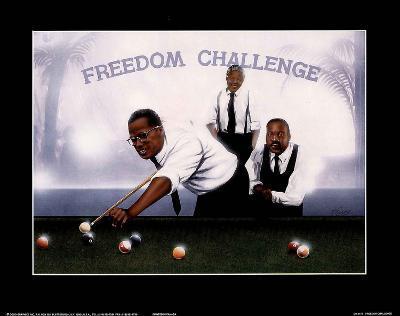Freedom Challenge MLK Malcolm X Nelson Mandela