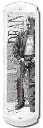 James Dean Rebel Indoor/Outdoor Thermometer