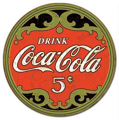 Coca-Cola Round 5 Cents