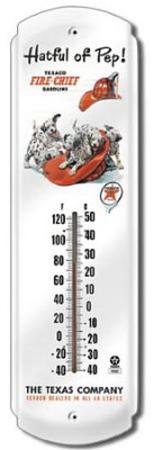 Texaco Hatful of Pep Indoor/Outdoor Thermometer