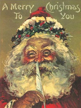 Santa Claus A Merry Christmas To You