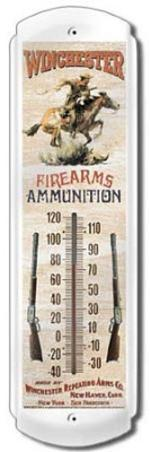 Winchester Firearms Pony Express Indoor/Outdoor Thermometer