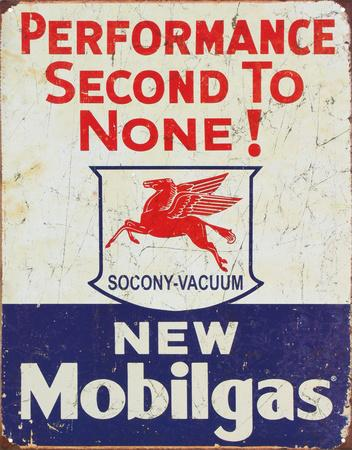 Mobil Gas Gasoline Performance Second to None