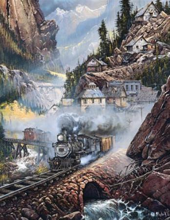 Silverdale Run Train by Blaylock