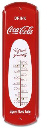 Drink Coca Cola Red Indoor/Outdoor Thermometer