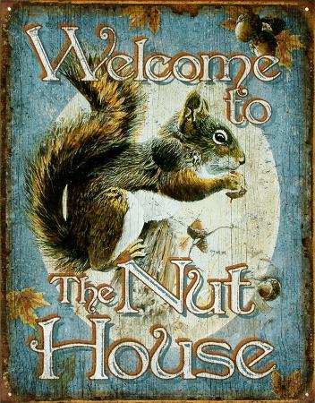 Welcome to the Nut House Squirrels