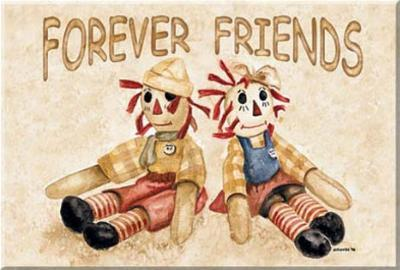 Raggedy Ann Andy Forever Friends Magnet