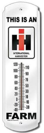 This Is An IH Farm Indoor/Outdoor Thermometer