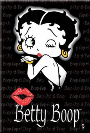 Betty Boop Blowing Kiss Magnet