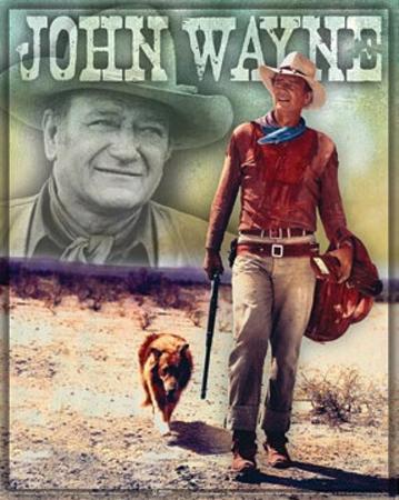 John Wayne Walking
