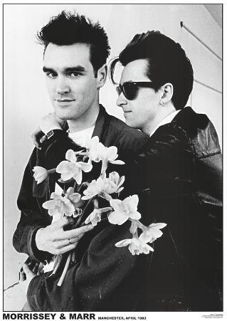The Smiths (Morrissey & Marr) Music Poster