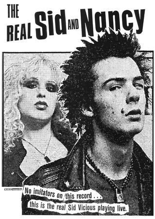 The Real Sid & Nancy (Faces, B&W)