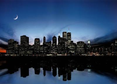 New York City Skyline Art Print Poster