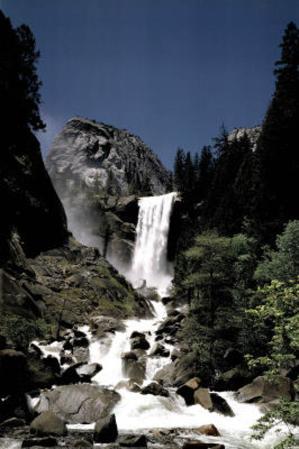 Kernall Fall Yosemite National Park California Photo Art Print Poster