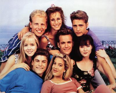Beverly Hills, 90210 (Group) Glossy TV Photo Photograph Print